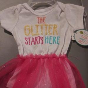 Magic Years baby girls one piece 6-9 months
